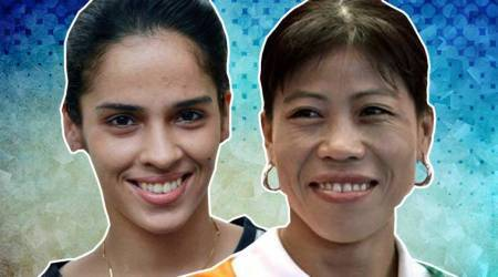 Mary Kom, Saina Nehwal: Sports 'Golden girls' come together for magazinecover