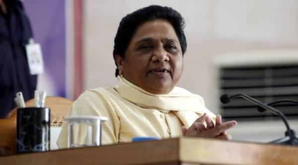 Parties should fight communal forces: Mayawati at Chhattisgarh rally