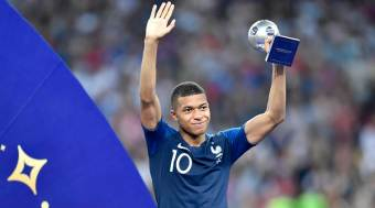 Kylian Mbappe wins Young Player Award