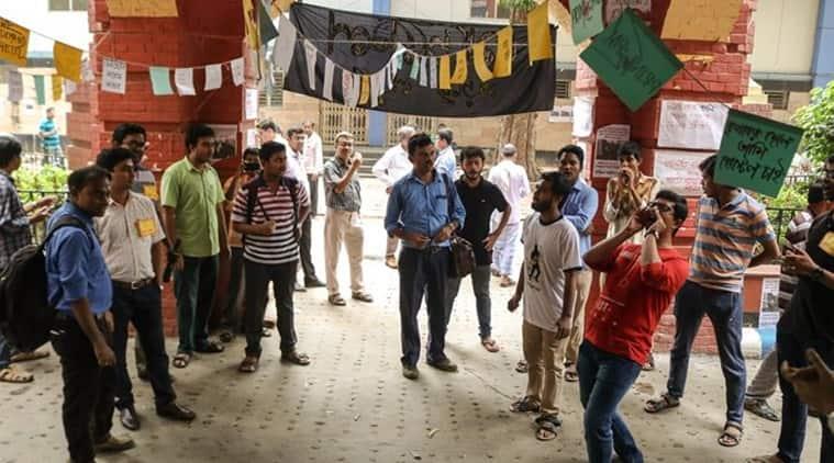 Calcutta Medical College and Hospital, Calcutta Medical College and Hospital protest, Calcutta Medical College