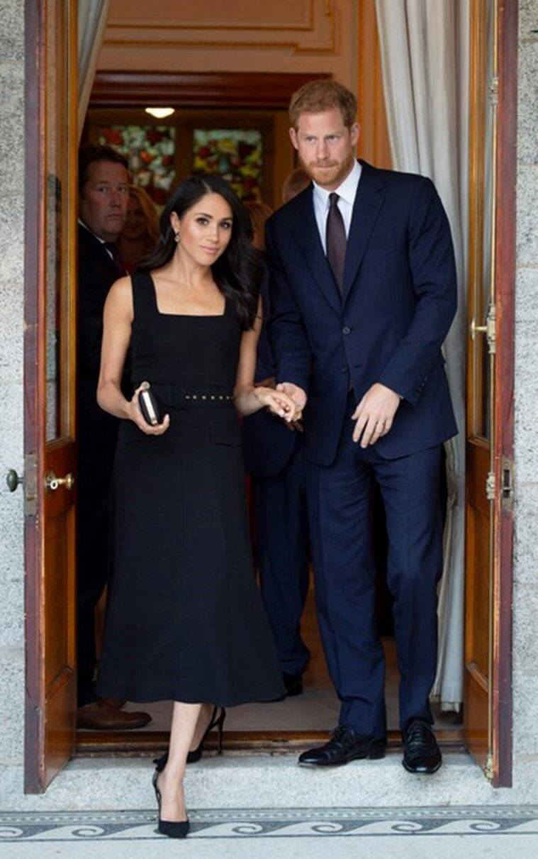 meghan markle, prince harry, meghan markle ireland, meghan markle prince harry ireland, meghan markle givenchy, meghan markle dior, meghan markle emilia wickstead, royal wedding, royal wedding 2018, meghan markle prince harry wedding, meghan markle fashion, royal fashion, meghan markle latest news, meghan markle latest photos, meghan markle updates, celeb fashion, indian express, indian express news