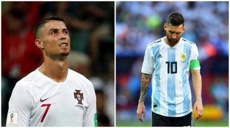 FIFA World Cup 2018: Twitter abuzz as Cristiano Ronaldo, Lionel Messi exit on sameday