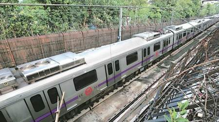 Delhi: Metro service on Violet Line hit as railing falls on coach