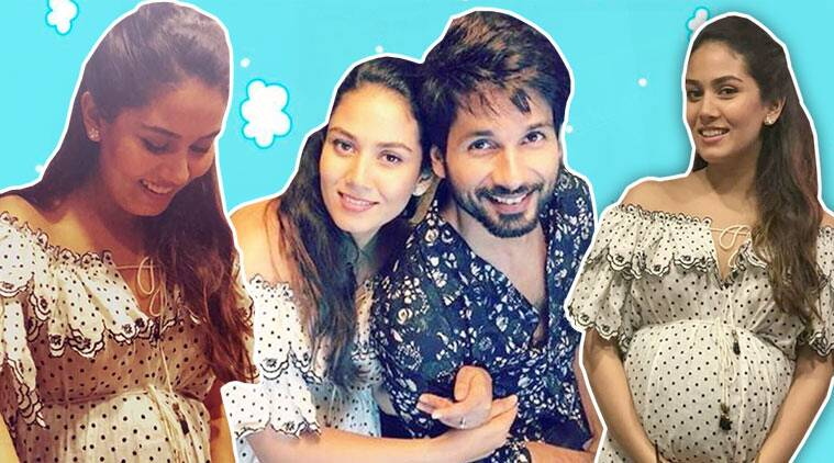 mira rajput, mira rajput shahid kapoor, mira kapoor baby shower, mira kapoor latest photo, indian express, indian express news