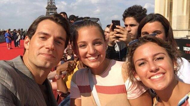 henry cavill in paris world premiere of mission impossible fallout