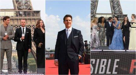 Mission Impossible Fallout world premiere: Tom Cruise, Henry Cavill and others take over Paris