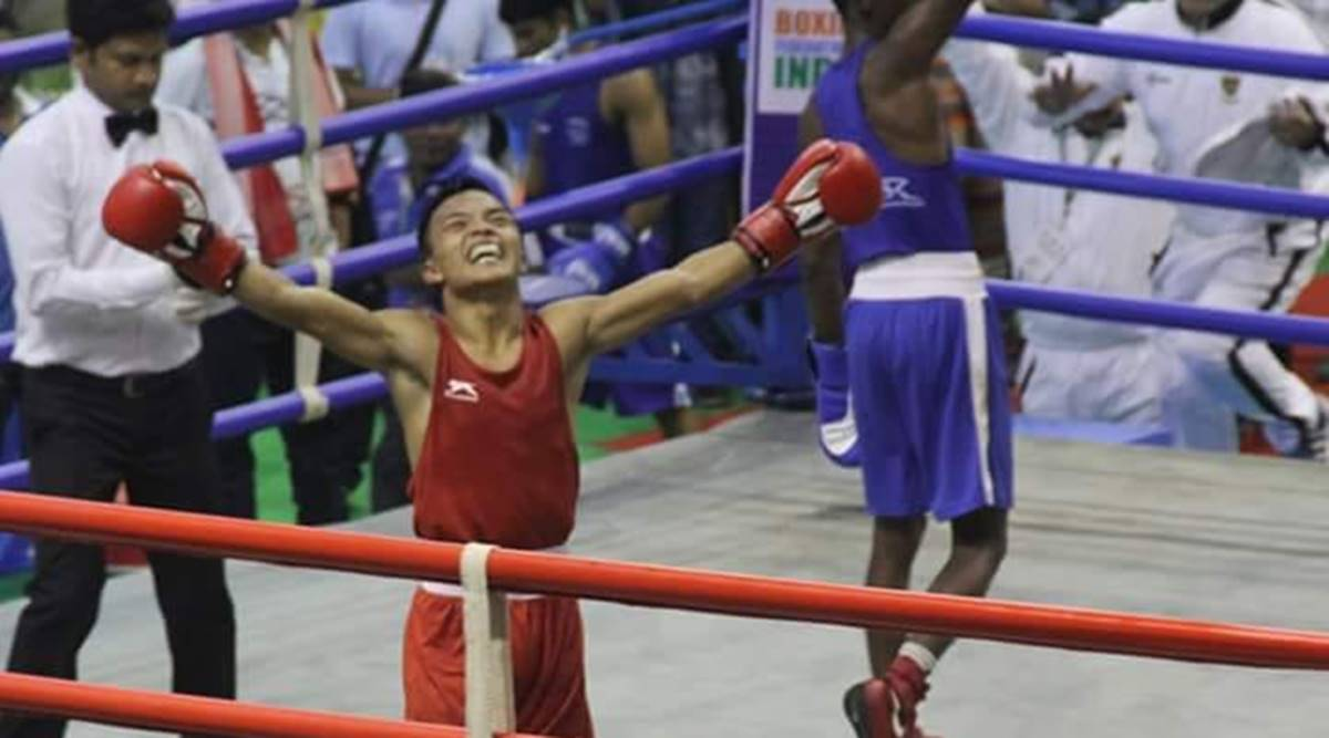 Meet NT Lalbiakkima — the boxer who trained by running around Mizoram with a heavy stone | North East India News,The Indian Express
