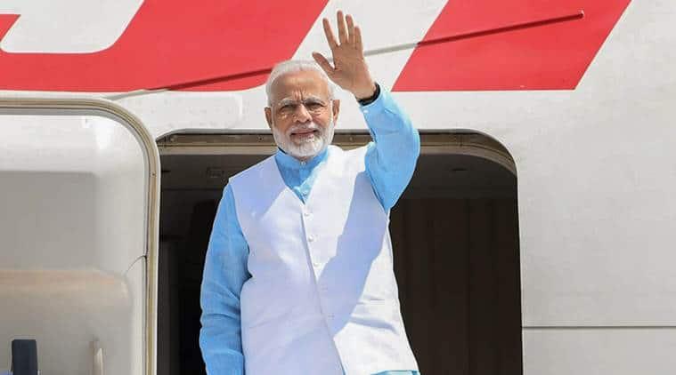 Narendra Modi, PM Modi, PM Modi VVIP flight, Pak air space, Pakistan air space, Pakistan denies PM Modi's VVIP flight, Pak denies PM Modi's flight, India news, Indian Express
