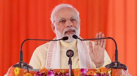 PM Modi gives UP projects worth Rs 33,000 crore, flays SP, BSP for stalling development in state