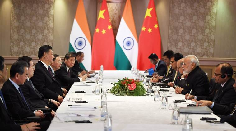 BRICS: PM Narendra Modi meets Chinese President Xi Jinping, discusses ties