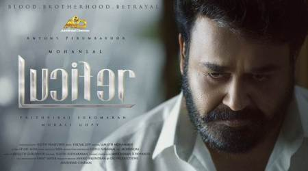 Mohanlal Lucifer first look