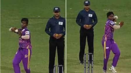 WATCH: Mokit Hariharan's ambidextrous bowling action in TNPL leaves audienceimpressed