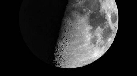 There might have been life on Moon 4 billion yearsago