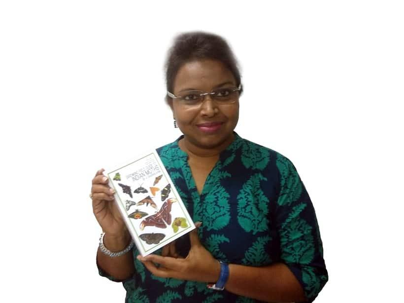 Moth Lady V Shubhalaxmi, National Moth Week, moths and butterflies