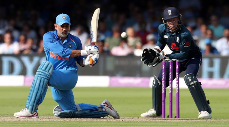 MS Dhoni completed 10000 runs in ODI cricket. (photo - getty)