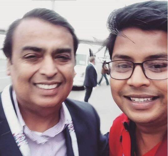 mukesh ambani in russia for football world cup