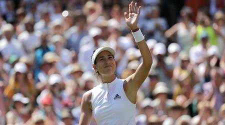 Garbine Muguruza, Garbine Muguruza news, Garbine Muguruza updates, Garbine Muguruza Wimbledon, sports news, tennis, Indian Express