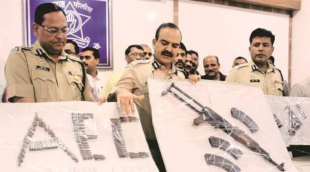 Thane: AK-56 rifle seized from Dawood  gang member's house, wife arrested