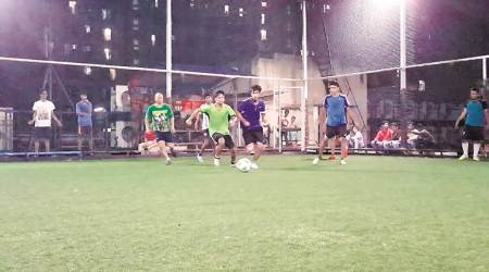 Mumbai: Joy dribbles on weekends for these footballenthusiasts