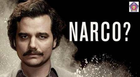 Mumbai Police's brilliant word play with 'Narcos' has Netflix India and Tweeple rooting for them