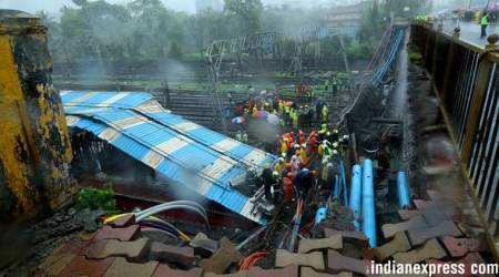 Incessant rains pound Mumbai, five injured as part of Andheri bridge collapses: Top developments