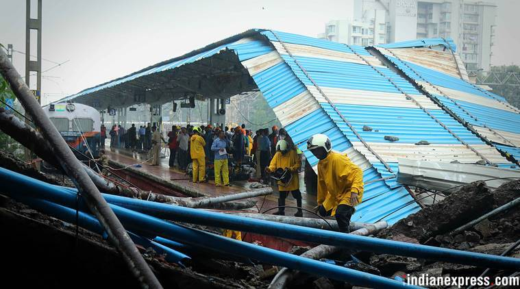 Incessant rains pound Mumbai, 5 injured as part of Andheri bridge collapses: Top developments