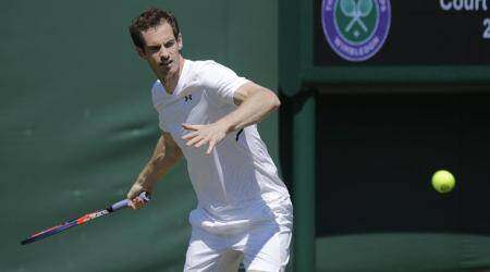 Andy Murray carrying lighter load than usual at Wimbledon