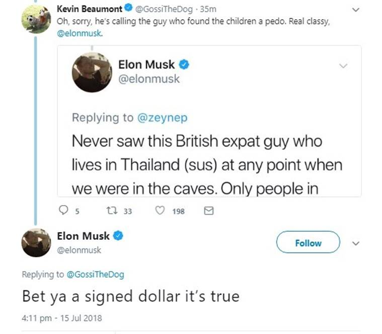 Thailand Cave Rescuer Says Elon Musk 'Can Stick His Submarine Where It Hurts'
