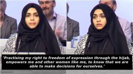 WATCH: This Muslim teacher's powerful speech on why she chose to wear hijab is going viral