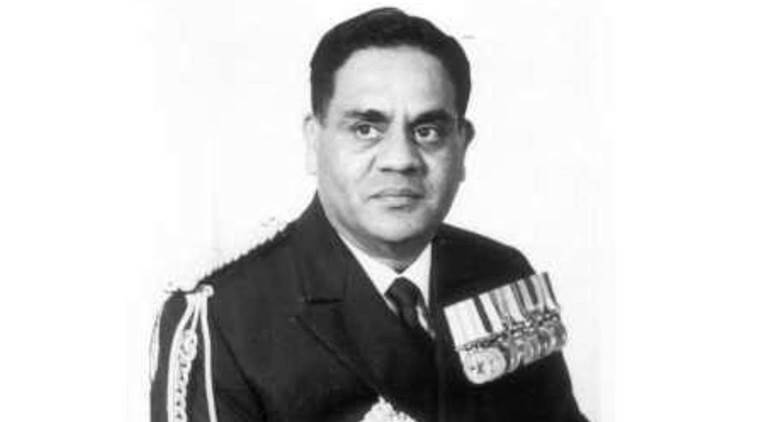 Jayant Ganpat Nadkarni, Podgy Nadkarni, Indian Navy, Indian Naval chief, Indian express column