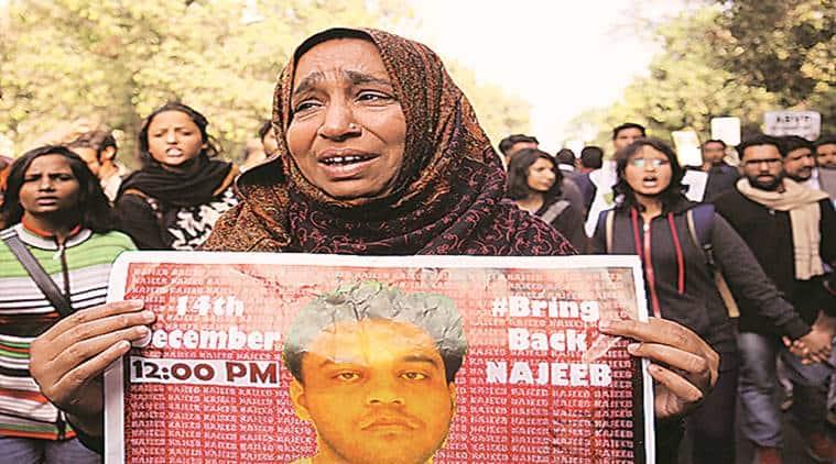 Najeeb Ahmed, JNU missing student, JNU missing student Najeeb Ahmed, CBI probe, Biased CBI probe, JNU student Najeeb Ahmed, India news, Indian Express