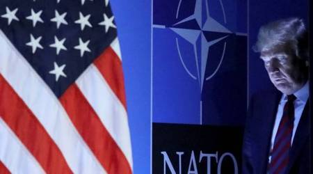 Donald Trump's portrayal of NATO in crisis carries risks foralliance