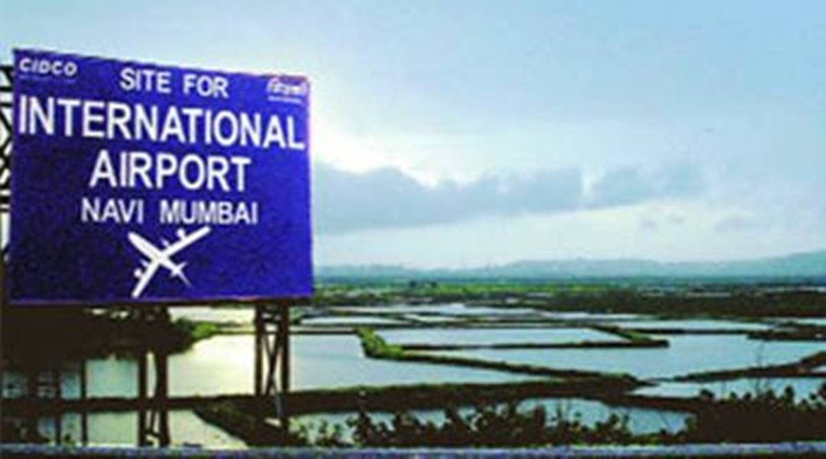 Navi Mumbai Airport, Marshal March, DB Patil, Mumbai airport protest, Mumbai news, Mumbai latest update, Indian express