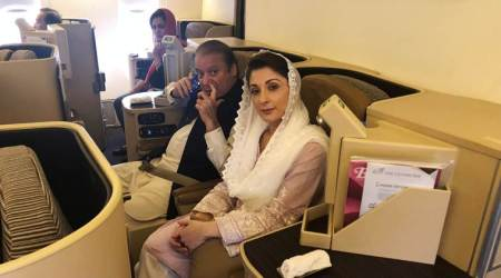 Pakistan: Nawaz Sharif, daughter arrive in Lahore after court suspends jail term