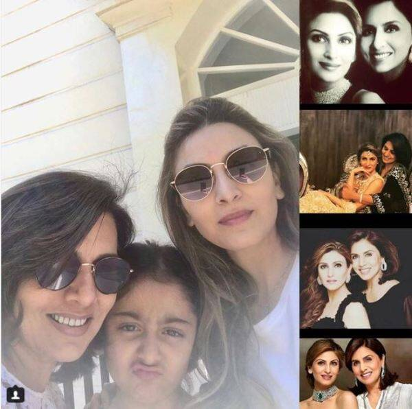 riddhima kapoor wishing mother neetu singh happy birthday