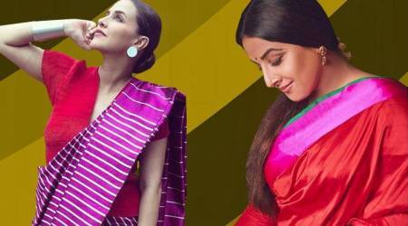 Bright, bold and beautiful: Vidya Balan, Neha Dhupia remind us of the need to embrace saris more often