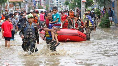 Landslide, massive flood kills eight people in Nepal