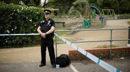 Two Britons exposed to nerve agent Novichok used on Russian spy: police