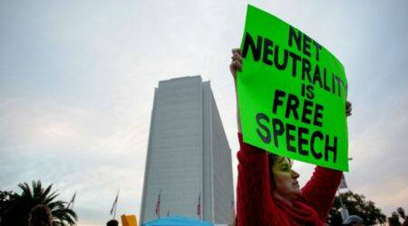 US sues after California governor signs 'net neutrality' law