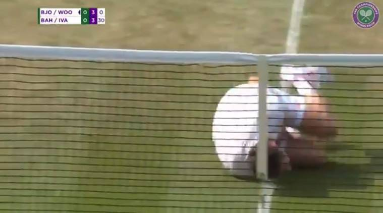 WATCH: Tennis player 'mocks' Neymar during Wimbledon match
