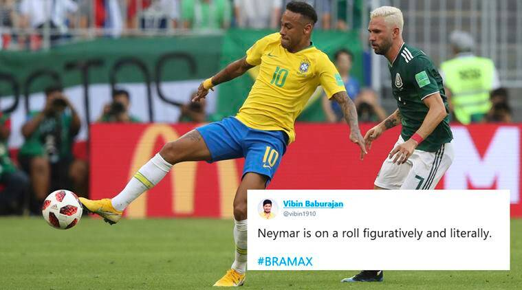 Tweeple Celebrate With Neymar Memes As Brazil Beat Mexico To Reach Quarterfinals Trending News The Indian Express