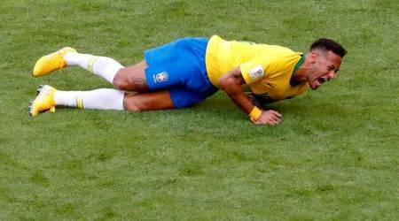 Neymar not upset at critics of his World Cup rolling