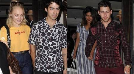 Priyanka Chopra and Nick Jonas enjoy double date with Joe Jonas, Sophie Turner