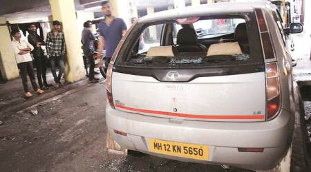 Pune: Armed men go on a rampage in Nigdi, damage several vehicles