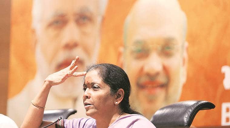 For any disharmony until 2019, blame Congress: Nirmala Sitharaman