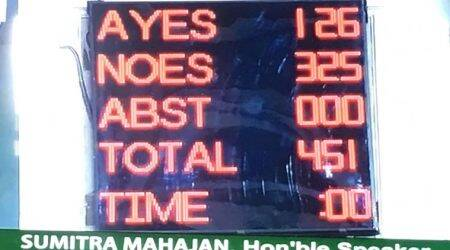 No Confidence motion in Parliament LIVE | Modi-led NDA wins trust vote after 12-hour debate