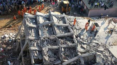Greater Noida buildings collapse LIVE updates: Three people killed, many feared trapped