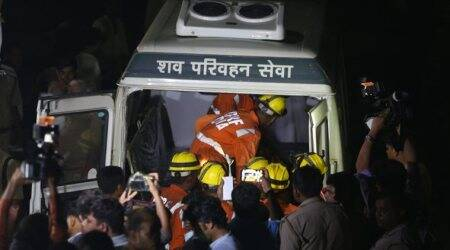 Greater Noida buildings collapse LIVE updates: Two bodies retrieved, many more feared trapped