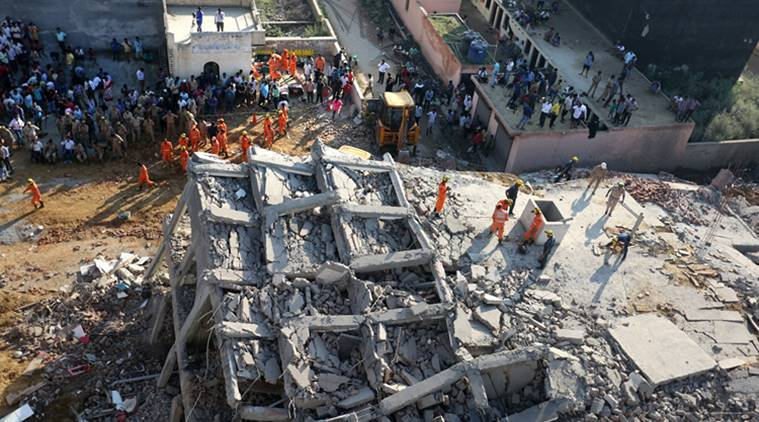 Fear grips residents in Greater Noida after building collapse