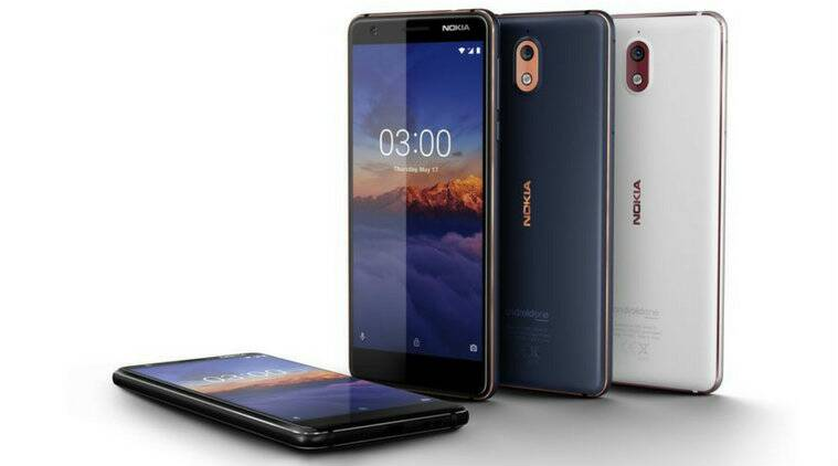 Nokia 3.1 Android One smartphone with 18:9 HD+ display launched in India for a price of Rs 10,499